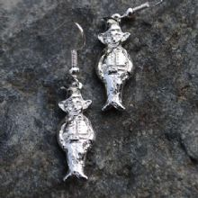 Cornish pisky earrings E96